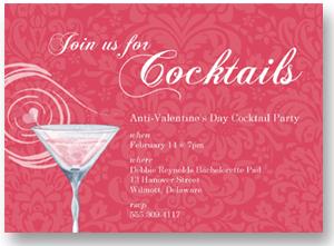 Anti Valentines Party Invitation