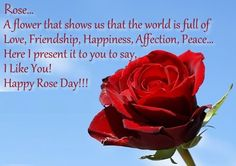 Cute Rose Day Messages Cute Rose Valentines Day Love Quotes Day Wishes Beauty