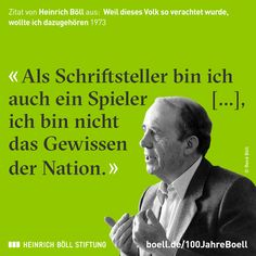 Jahre Heinrich Boll