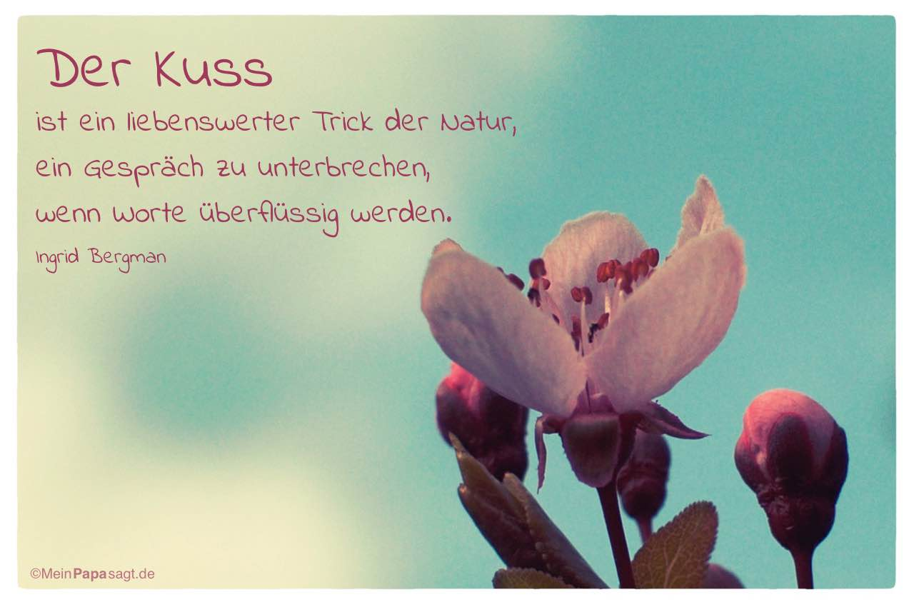 Zitate Mit Kuss | Leben Zitate