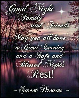 Gute Nacht Gute Nacht Freunde Gute Nacht Zitate Gute Zitate Gute Nacht Segnungen Nighty Night Zitate Zu Familie
