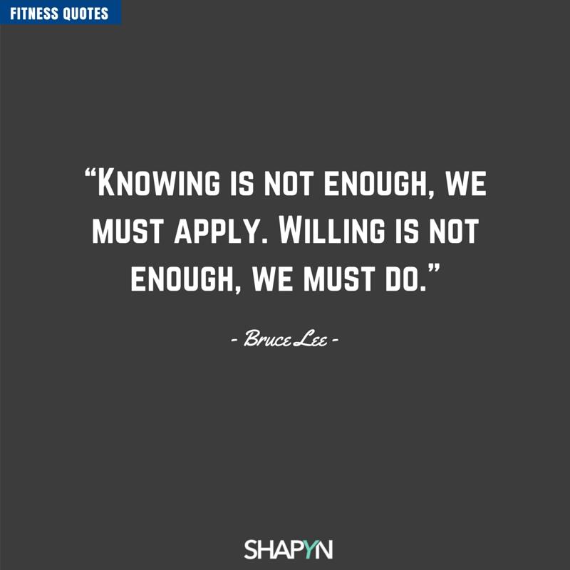 We Must Do Zitat