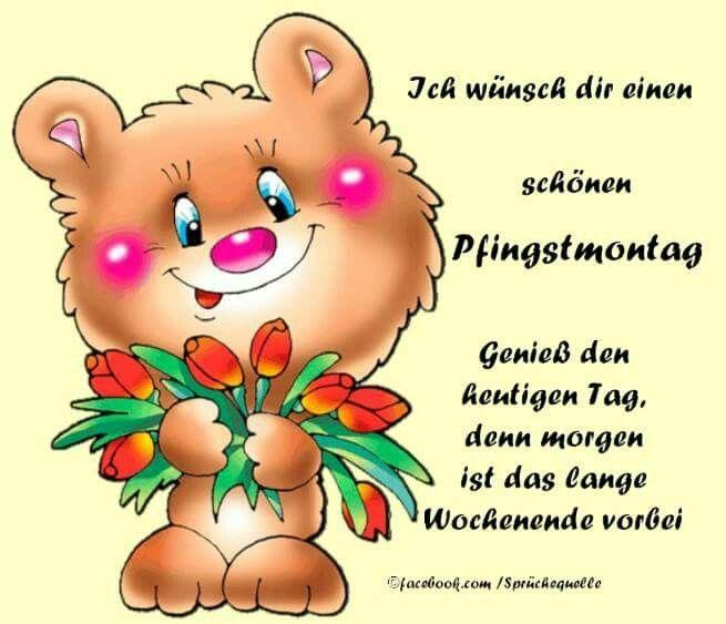 Pfingsten Guten Morgen Gute Nacht Suse Bilder Zitate Feiertage Wochentage Ostern Weihnachten