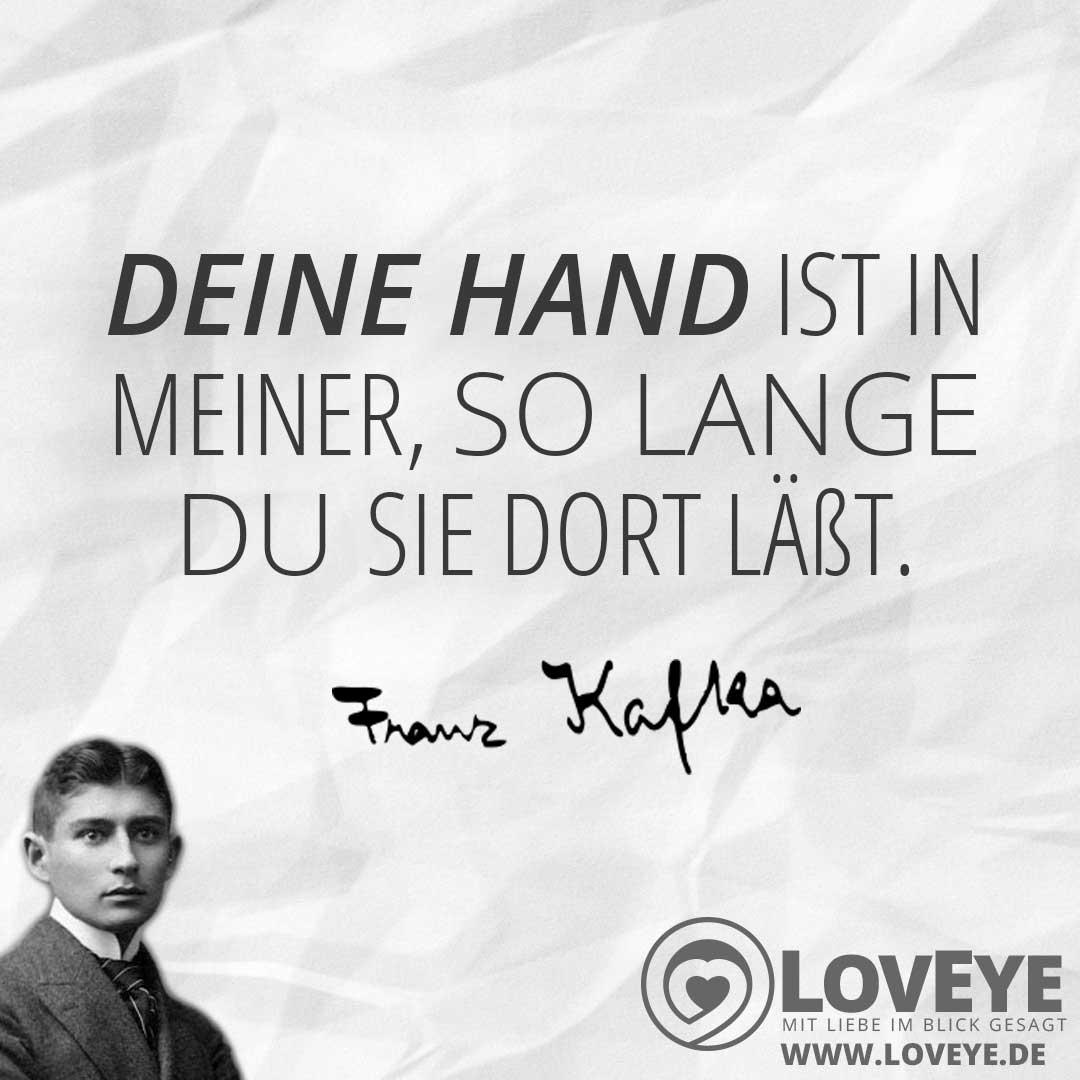 Bild Zum Zitat Liebeserklarung Von Franz Kafka