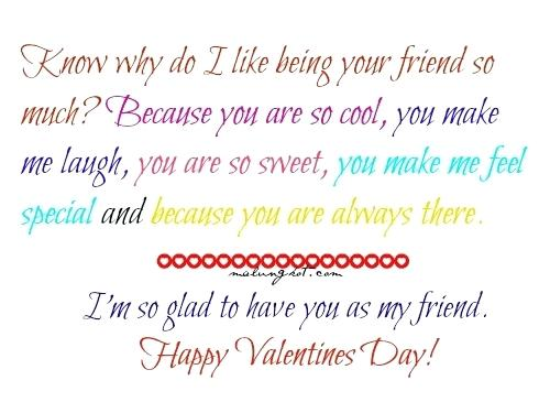 Happy Valentines Day For Friends Quotes