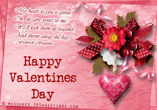 Happy Valentines Day Greetings To Her