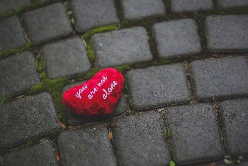 Herz Fur Hoffnung Du Bist Nicht Allein