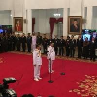Jokowi lantik Gubernur dan Wakil Gubernur Riau di Istana Negara - Andrew Hidayat (AndrewHidayat.com)