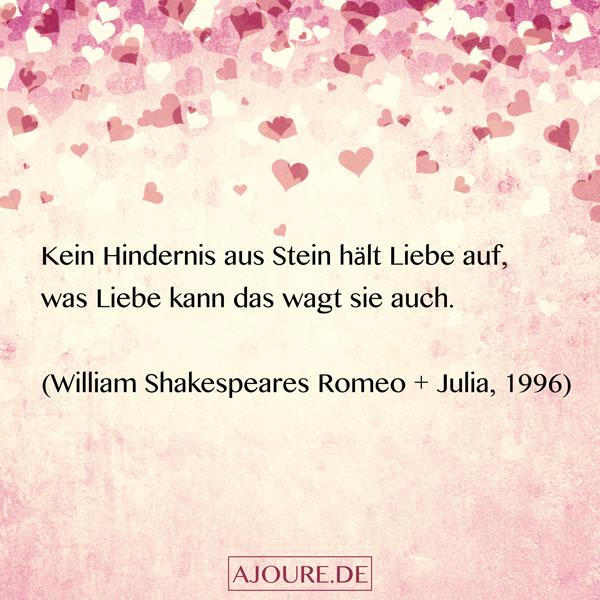 William Shakespeares Romeo Julia Zitat