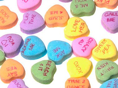 Necco Sweet Heart Candy