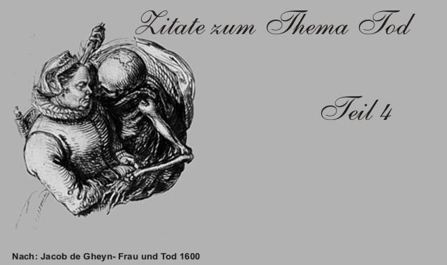 Zitate Und Kurze Gedichte Zum Thema Tod Teil