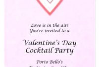 Valentines Day Invitation S Party Quotes Template