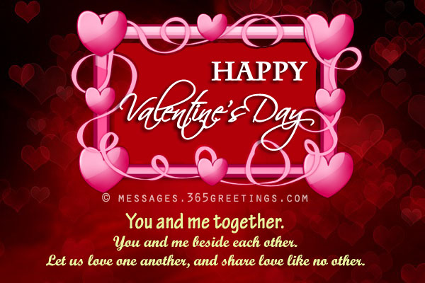 Cute Valentines Day Greetings Romantic Valentines Day Greetings