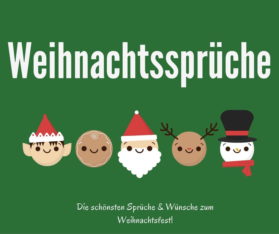 Weihnachtsspruche Schonsten Spruche Wunsche Fur Weihnachten