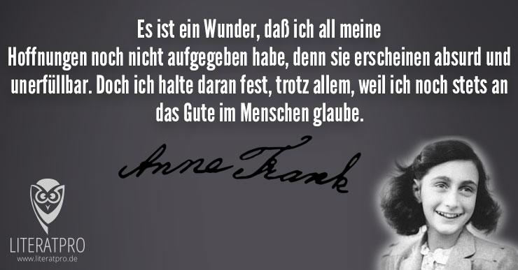 Zitate Von Anne Frank