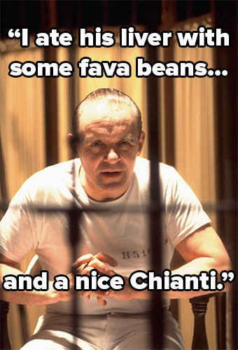 Hannibal Lecter Silence Of The Lambs  Villainous One Liners That Still Send