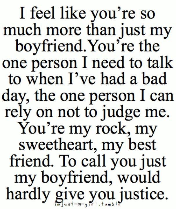 Cute Boyfriend Quotes For Him