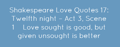 Shakespeare Love Quotes Twelfth Share As Image