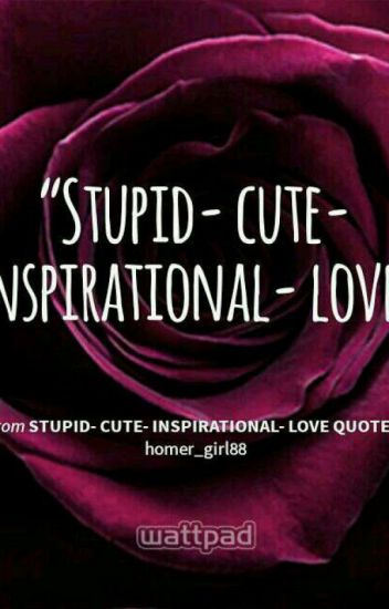 Stupid Cute Inspirational Love Quotes