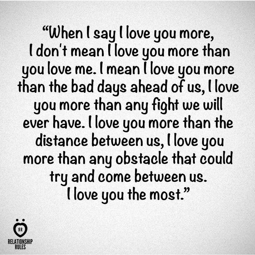 To My Baby I Love You More Spiritual Quoteshealing