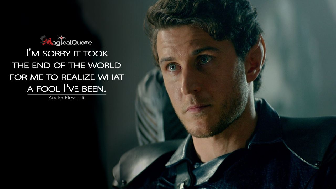The Shannara Chronicles Quotes Magicalquote Serien Zitate