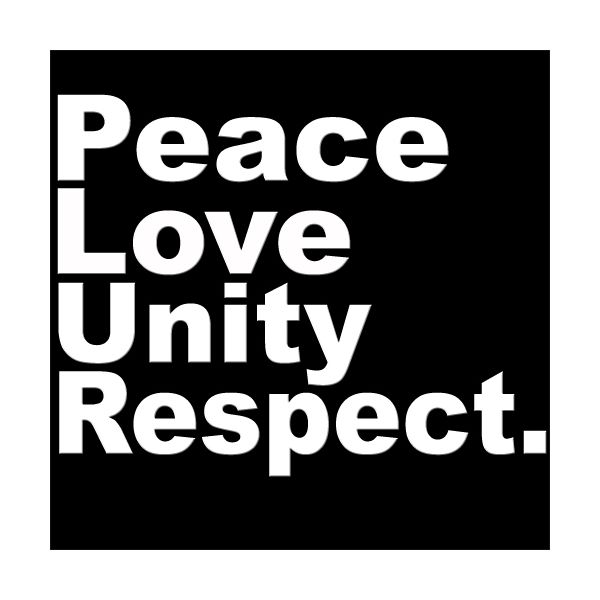 We Need To Learn Peace Love Unity And Respect Check Out My