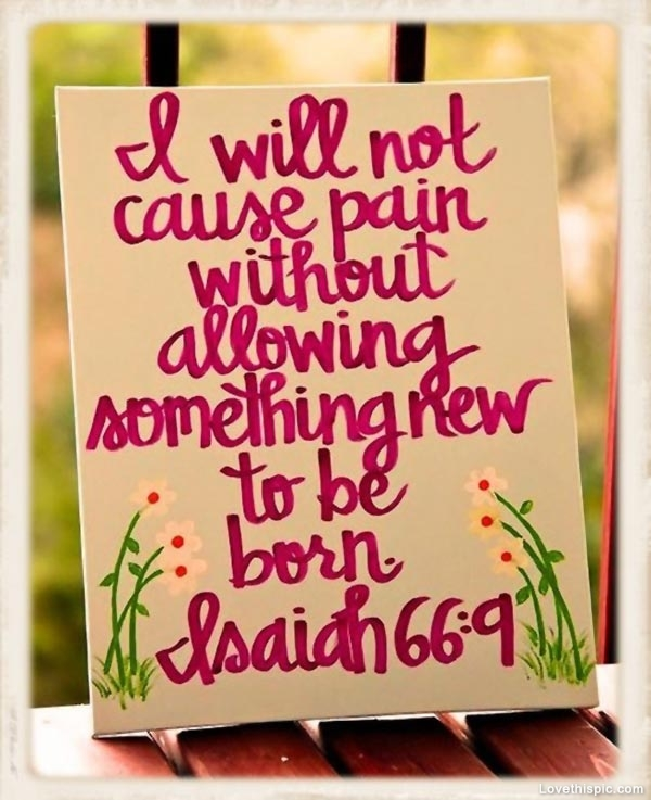 Pain Bible Quote