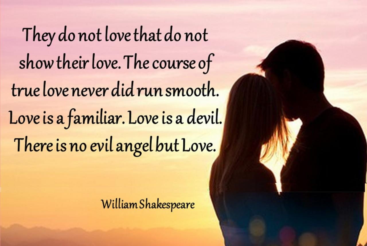 Love Quotes For Him By William Shakespeare