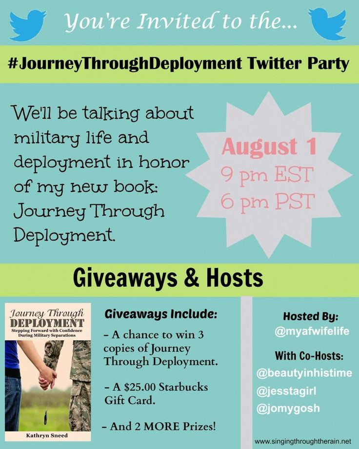 Journeythroughdeployment Twitter Party