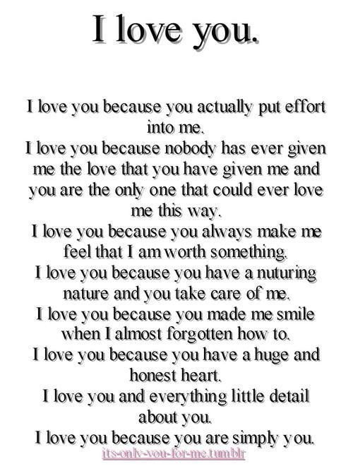 Just Because Boyfriend Gifts I Love You I Love You So Much Quotes Love