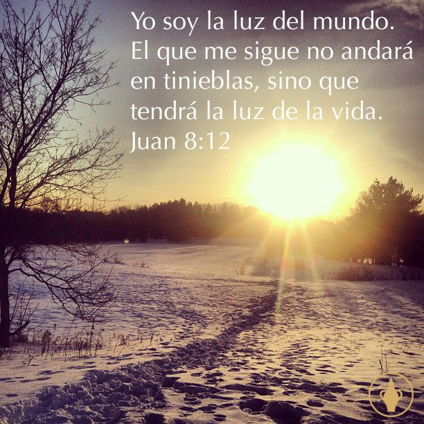 Spanish Bible Scripture Light Love Hope Truth