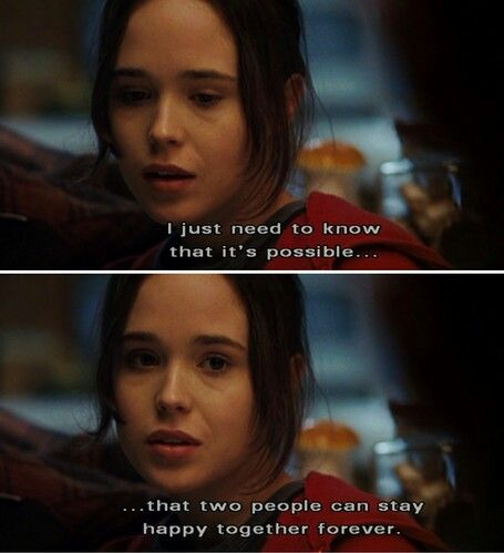 That Two People Can Stay Happy Together Forever Quote From Juno