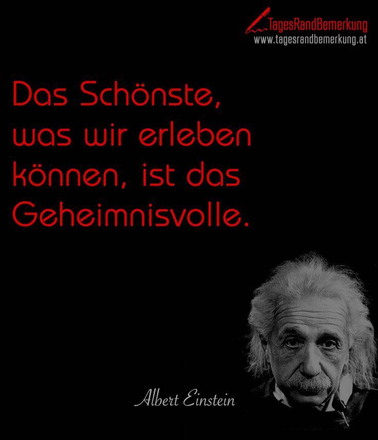 Das Schonste Was Wir Erleben Konnen Ist Das Geheimnisvolle Zitat Von Albert Einsteinminkabook
