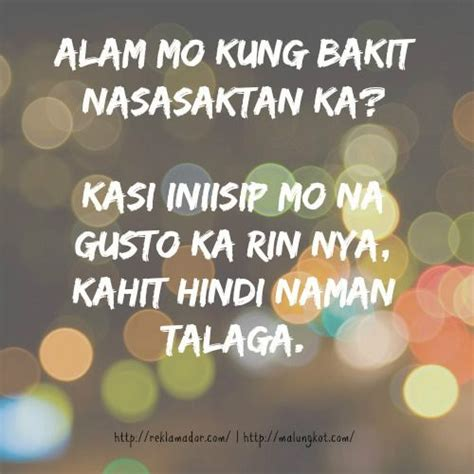 Fast Unrequited Love Quotes Tagalog
