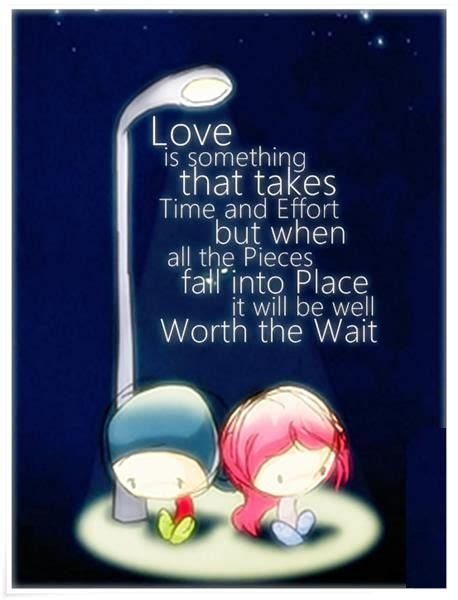 Fast Quotes About Love Takes Time
