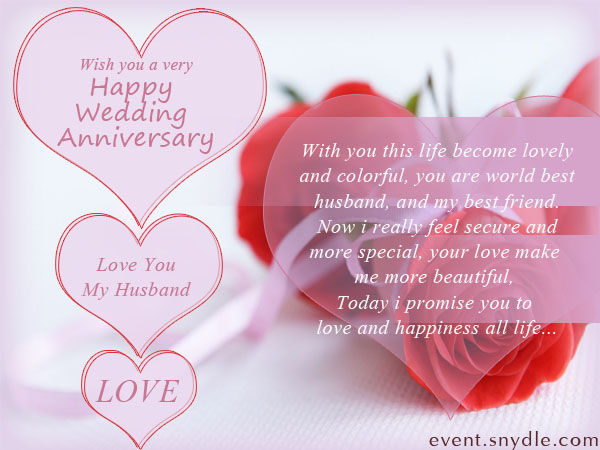 Happy Wedding Anniversary Quote For My Husband