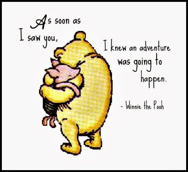 Adventure Winnie The Pooh Quotes By Quotesgram