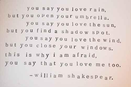 Www Relatably Com Q Img Shakespeare Love Quotes Ma Dont Fear Shakespeare Pinterest Shakespeare