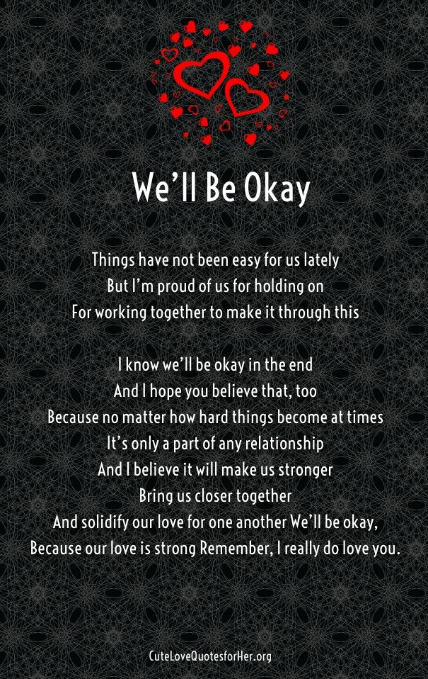 Troubled Relationship Poems For Her Hard Time Relationship Quotestrust
