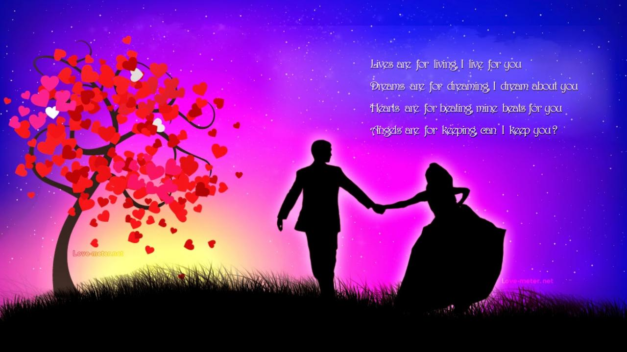 Best Lovely And Romantic Whatsapp Quotes Images On Good Night For Her And Him Share Messages