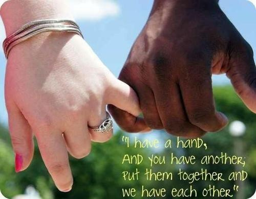 Black Men Who Date White Women Or Black Women Who Date White Men  C B True Love Quotesmixed