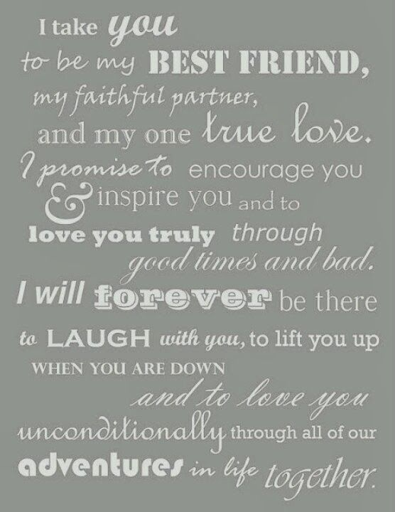 Fun Wedding Vows Renew Wedding Vows Wedding Quotes And Sayings Wedding Vows That