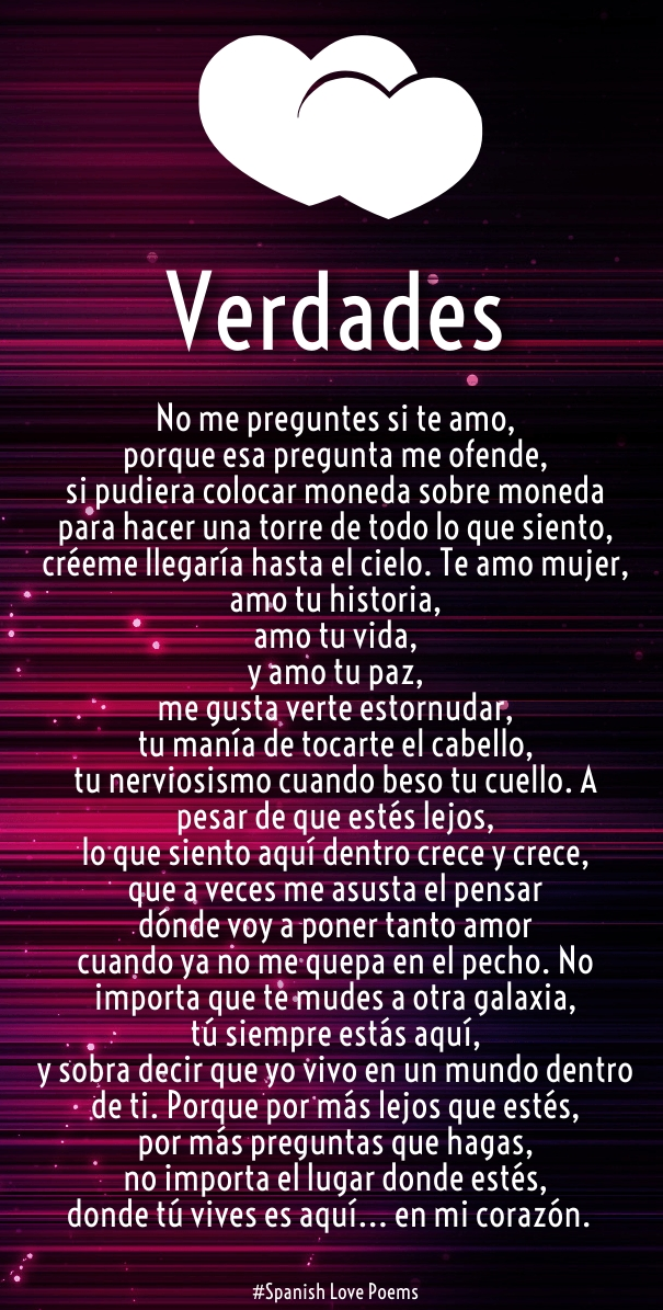 Spanish Love Quotes And S For Him Her Huglove
