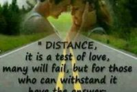 Distance Love This Happen With My Husband And I I Loves This Quote