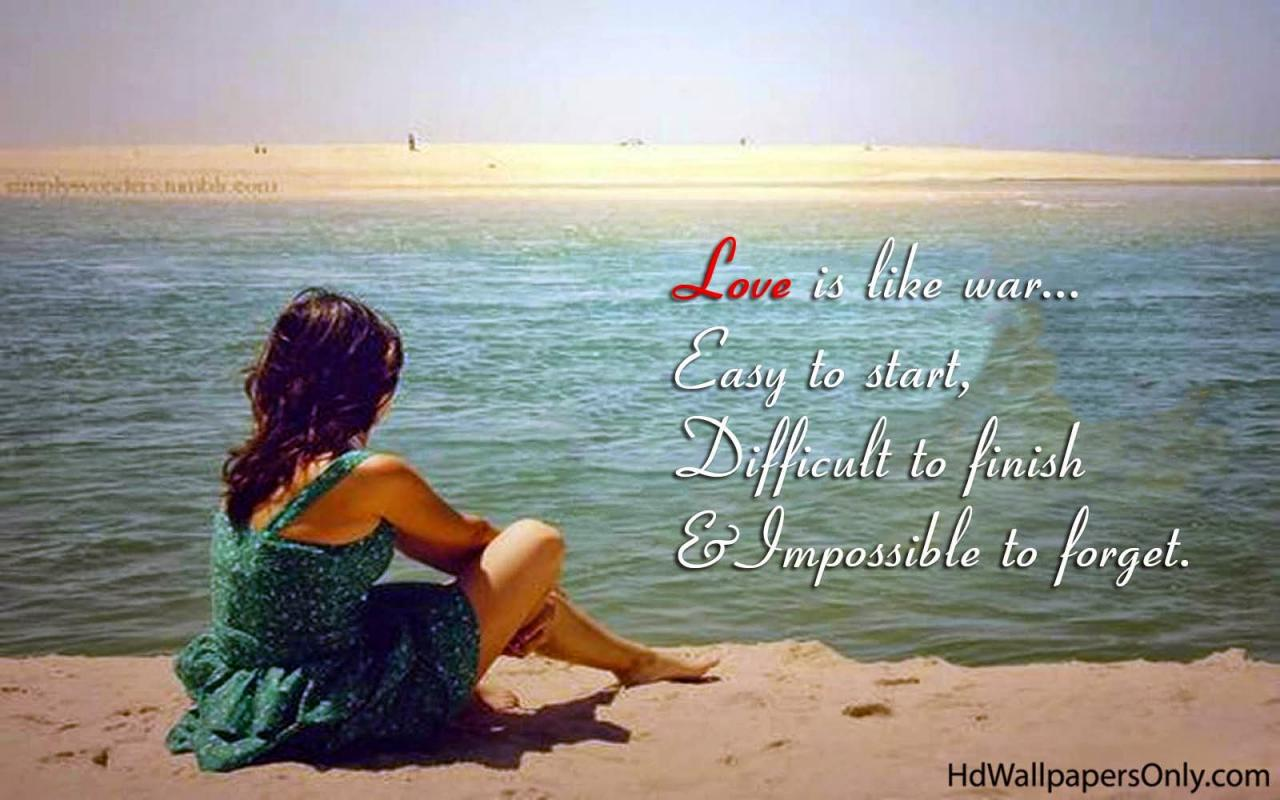 You Can Download Wallpaper Love Quotes On The Beach For Free Here Finally Dont Forget To Share This Wallpaper To Your Friends At Twitter