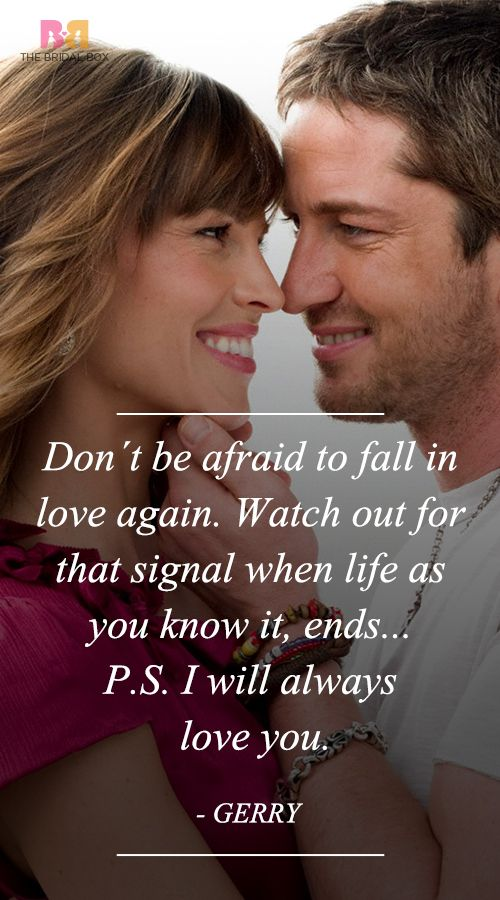 P S I Love You Quotes  Best Ones From The Movie