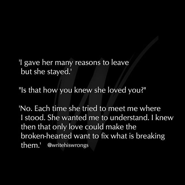 Only Love Could Make The Broken Hearted Want To Fix What Is Breaking Them