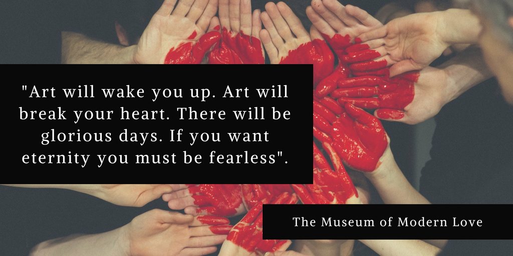 Book Quote The Museum Of Modern Love By Heather Rose Read Our Book Review