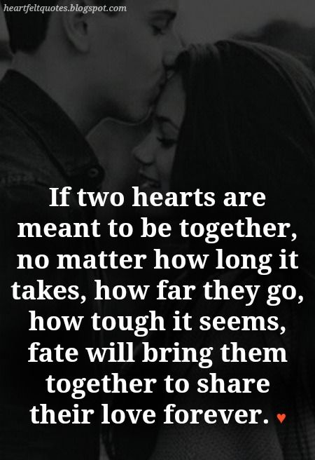 The Couples That Are Meant To Be Love Quotes