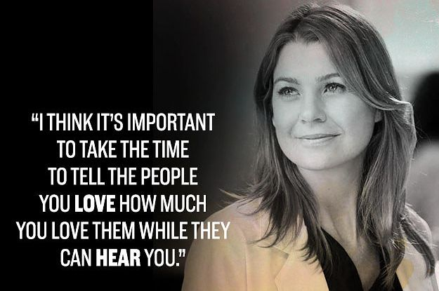 Incredible Greys Anatomy Quotes That Still Break Your Heart Serienmeredith Grau Zitategreys
